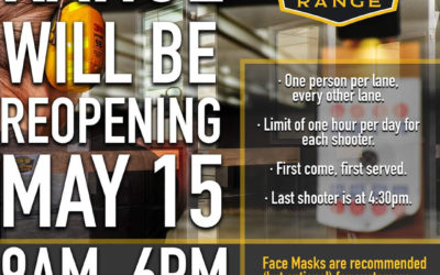 Range Reopening May 15th